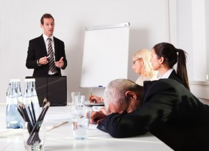 Stay Involved and Alert in Meetings