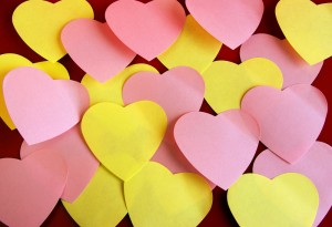 Valentine's tip....show your audience love as you present